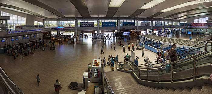 аэропорт Нячанга во Вьетнаме Cam Ranh Airport
