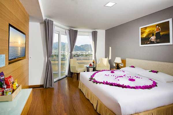 Deluxe city view room with balcony с видом на город