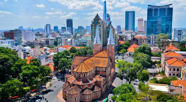 столица Вьетнама город Хошимин