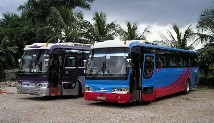 Автобус из Хошимина до Фантьета