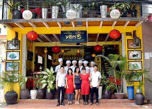 Престижный ресторан Nha Hang Yen's в Нячанге