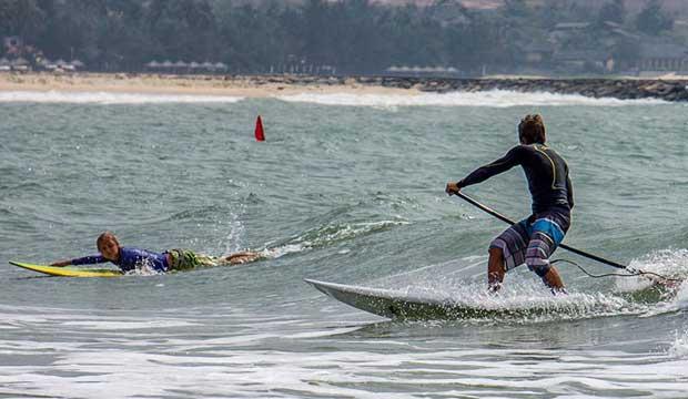 Серфингисты во Вьетнаме