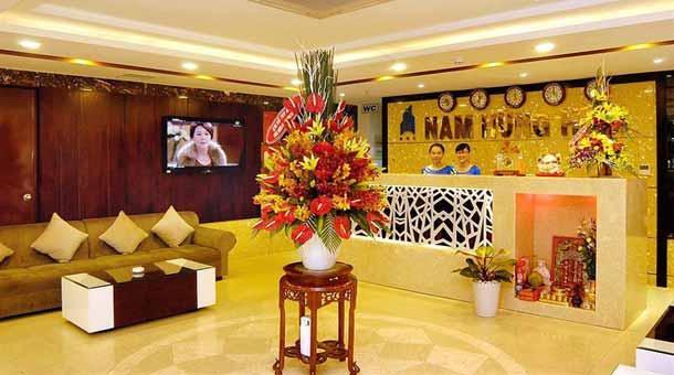 Стойка регистрации в Nam Hung Hotel 3
