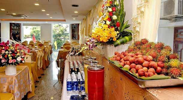 Ресторан в Нам Хунг отеле Вьетнам