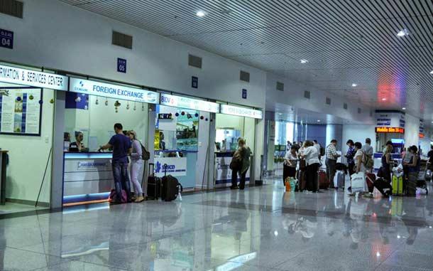 Зал в аэропорту Хошимина