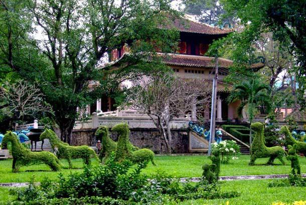 Старинный ботанический сад в Хошимине