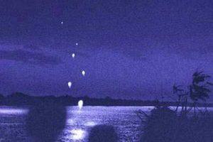 Огненные шары в Дельте Меконга