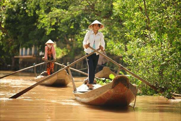 Экскурсия в Дельту Меконга Вьетнам
