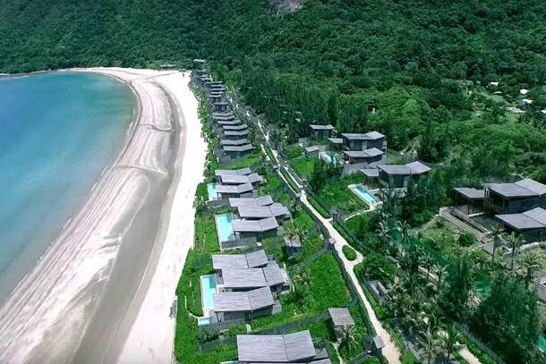 Топовый отель  на острове Six Senses Con Dao
