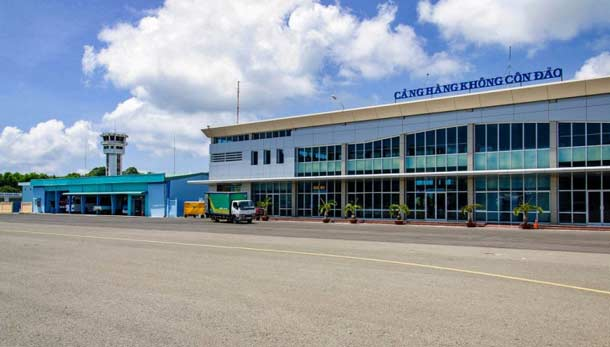 Аэропорт Кон Дао во Вьетнаме