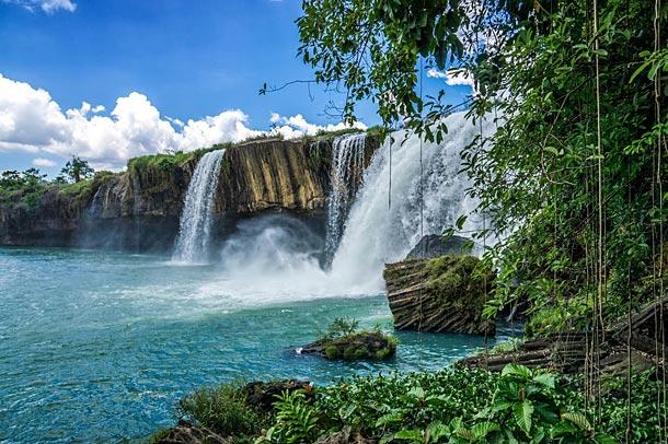 Водопад Драй Нур в Даклаке