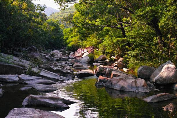 Водопад Бахо в Нячанге