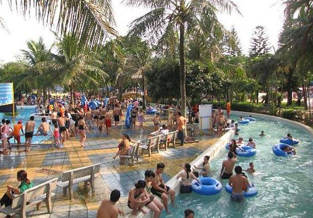 Аквапарк Ho Tay в Ханое