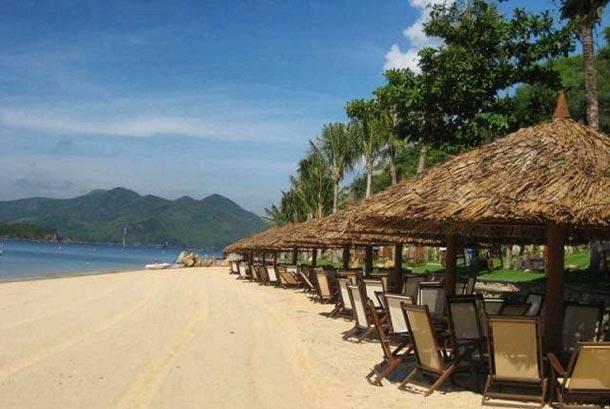 Пляжи на острове Хон Там Вьетнам