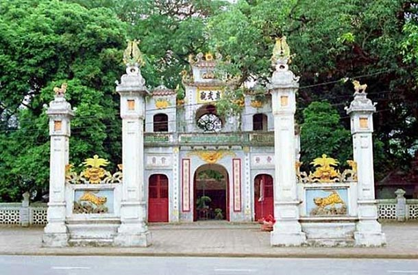 Храм Куан Тхан фото