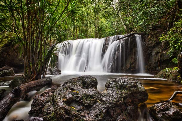 Водопад Суой Тран на острове Фукуок