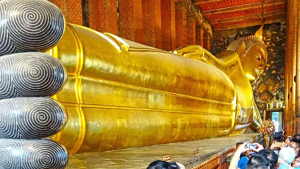 Храм Лежащего Будды в Вунгтау