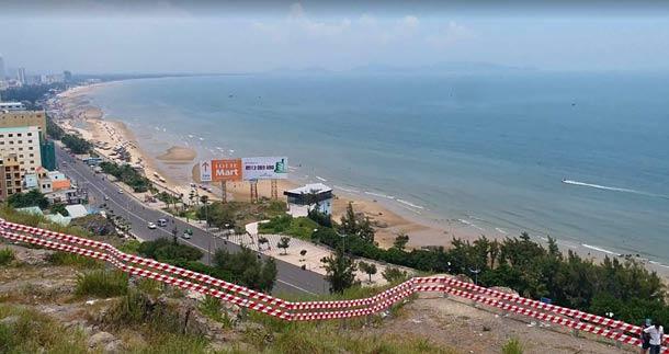 Пляж Бай Сао в Вунгтау