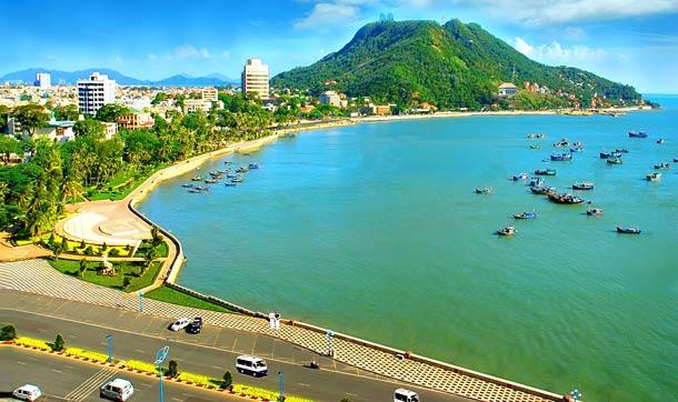 Город Вунгтау во Вьетнаме