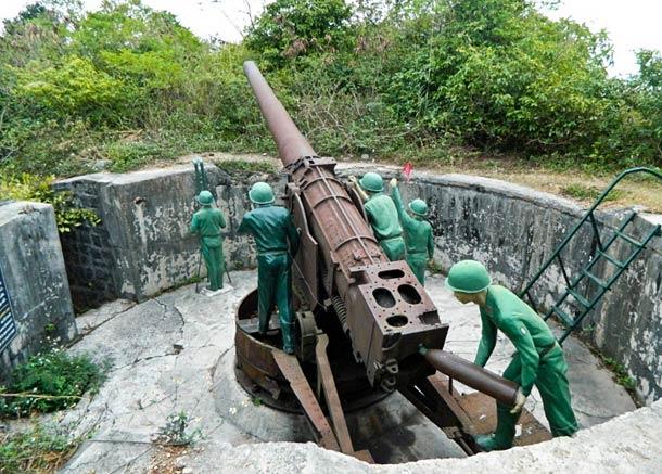 Музей на острове Кат Ба посвященный войне с Америкой