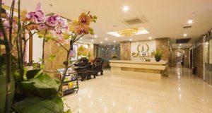 Стойка рецепции в Paris Hotel 3 в Нячанге