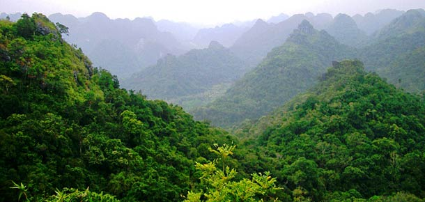 Национальные парки Вьетнама