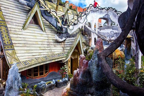 Crazy House в Далате (Вьетнам)
