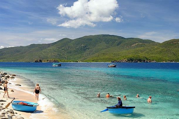 Остров Хон Мун во Вьетнаме