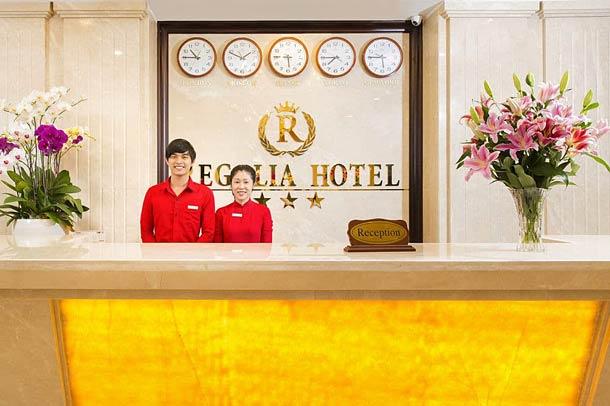 Рецепшион в отеле Regalia hotel 3 Nha Trang