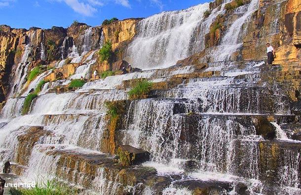 Водопады в Далате (Вьетнам)