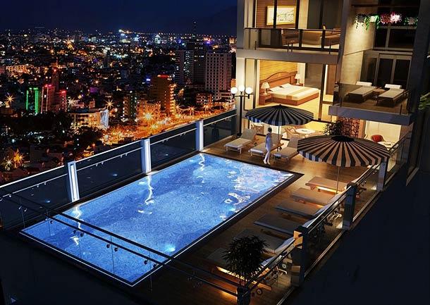 Бассейн в отеле Regalia hotel 3