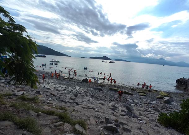 Пляж острова Хон Мун (Вьетнам)