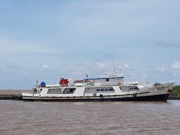 Морской порт в городе Ратьзя (Вьетнам)