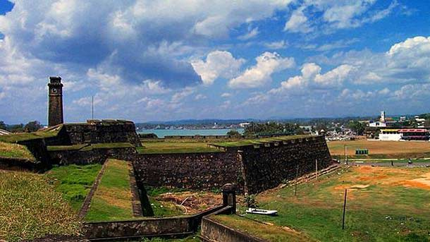 Голландский форт в Шри-Ланке