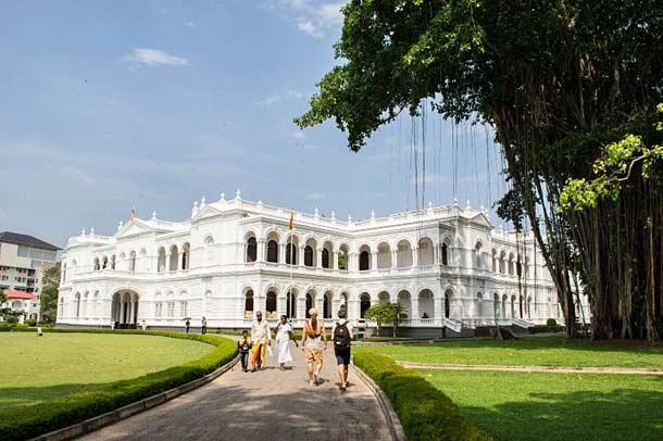 Национальный музей в городе Коломбо