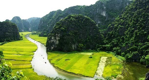 Долина Там Кок (Нинь Бинь)