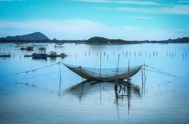 Рыбный промысел в провинции Фуйен