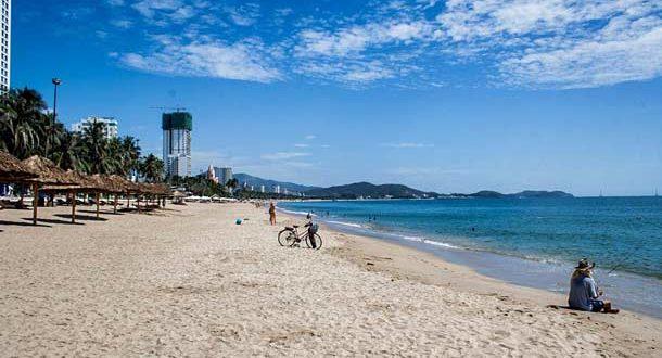 Пляж в Нячанге (Вьетнам)