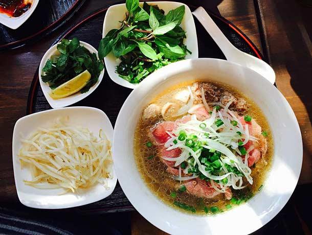 Рыбный суп в Муйне