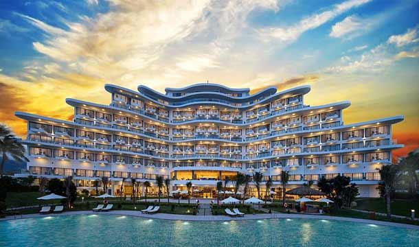 Вид отеля Cam Ranh Riviera Beach Resort & Spa