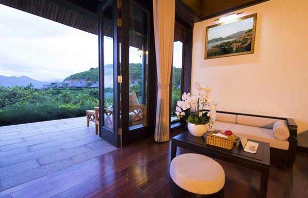 Вид из одного из номеров в отеле МерПерле Хон Там