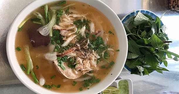 Суп из лапши Бань Кань