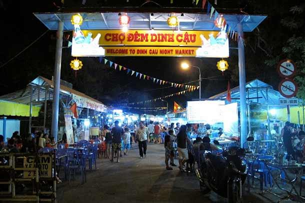 Ночной рынок в Дуонг Донге (Фукуок)