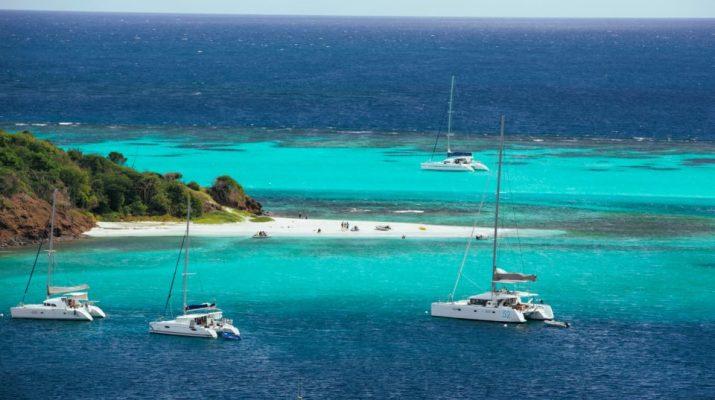 Аренда яхты на Карибах